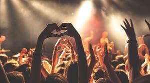 Crowds, concert
